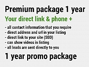 Premium Package - 1 year